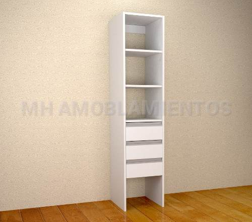 Columna 40C Blanco ABS