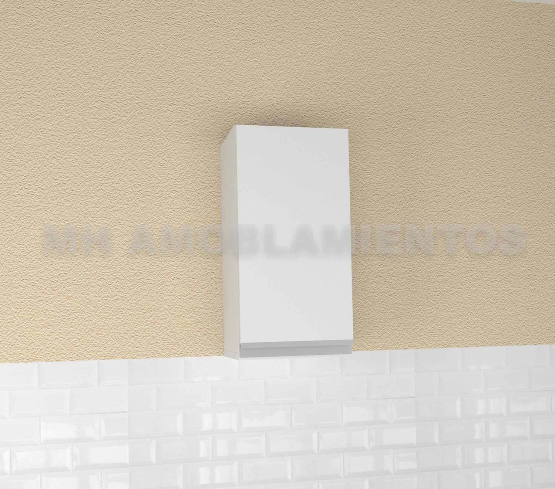 Alacena 30 cm Modelo Blanco Linea